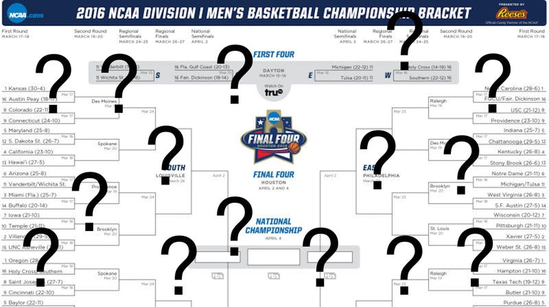 Illustration for article titled What The Way You Filled Out Your Bracket Says About You