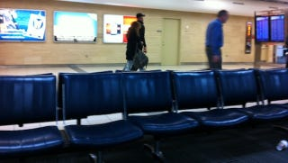 Illustration for article titled Albert Pujols Spotted At The Airport In St. Louis. But Where Could He Be Going?
