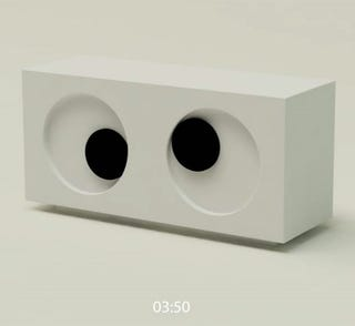 Illustration for article titled The Googly Eyes Clock Constantly Looks At You Funny