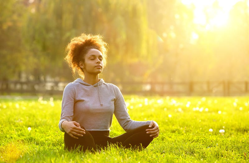 This could be me meditating. But it's not me because I don't sit half this still. (iStock)