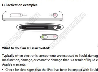 Illustration for article titled Liquid Damage May Not Kill Your Replacement Chances with Apple Products
