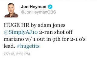 Illustration for article titled Jon Heyman Has Your Clubhouse Leader For Greatest Typo