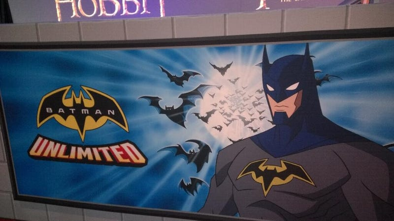 Illustration for article titled Is This The First Look At WB's Brand-New Batman Cartoon?