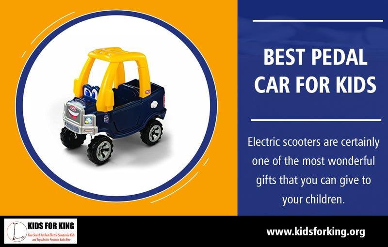 Illustration for article titled Best Pedal Car for Kids   kidsforking.org