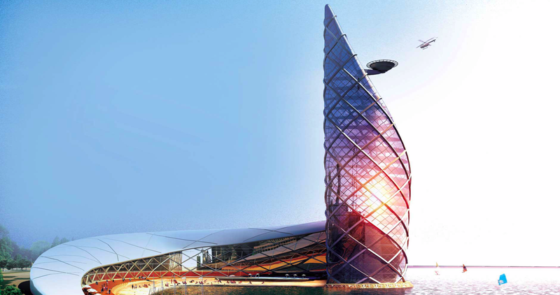 Illustration for article titled Baku Rendering Redux: An Investigation Into Insane Architecture Images