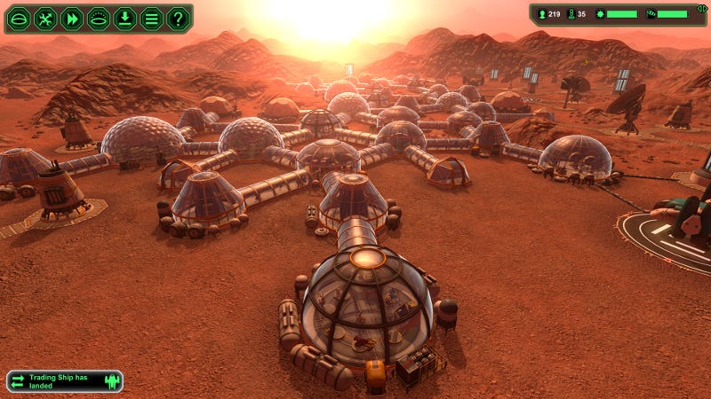 mars colony pictures of structures - photo #8