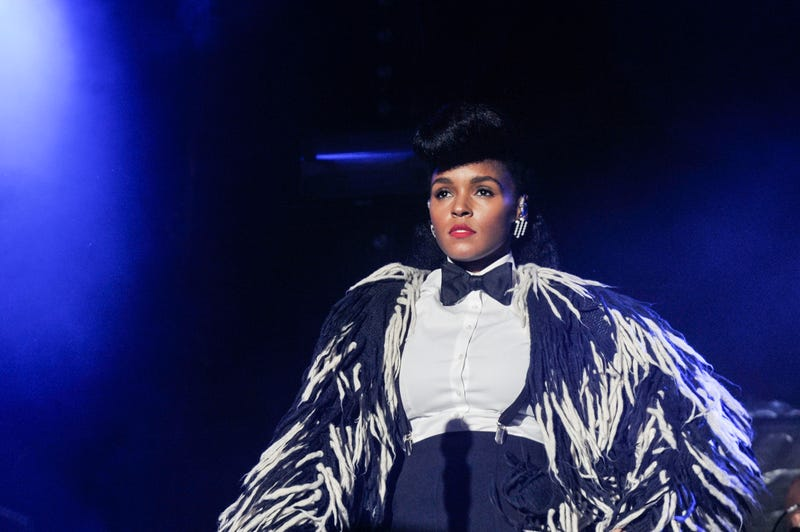 Janelle Monáe  performs at the annual Afropunk festival in Brooklyn, N.Y., on Aug. 28, 2016. Kris Connor/Getty Images