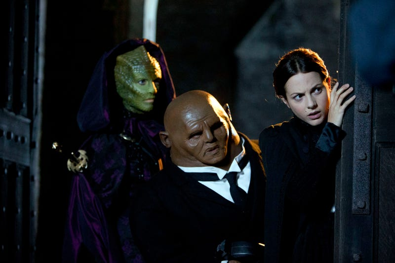 Illustration for article titled Can we please, please get a ruddy Vastra, Jenny and Strax show?!?!?