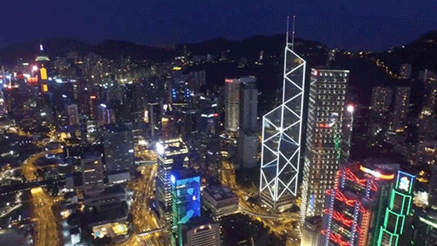 This Drone Video Of Hong Kong Is Truly Spectacular - Incredible drone footage captures hong kong