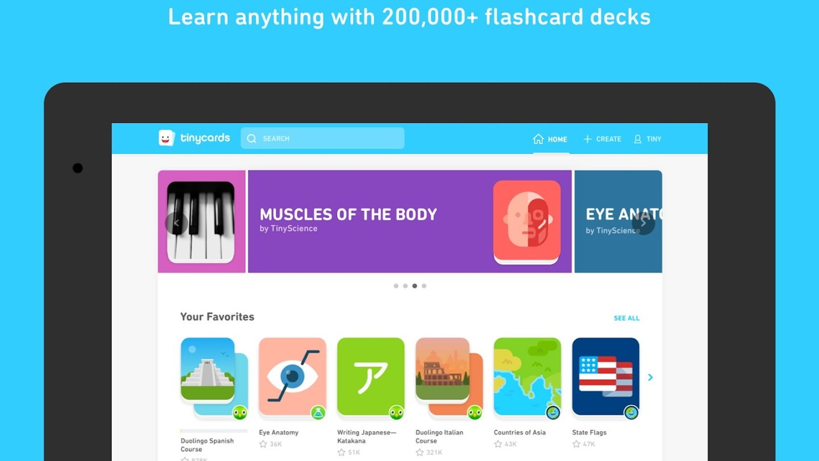 Tinycards, the Custom Flashcards App, Is Now on Android