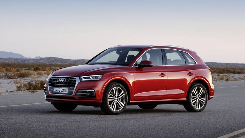 Illustration for article titled OPPO PSA: 2018 Audi Q5 Configurator is up
