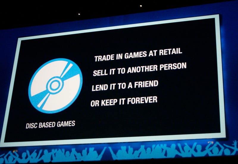 Illustration for article titled Sony May Eventually Inhibit Trade-Ins and Reselling on PS4