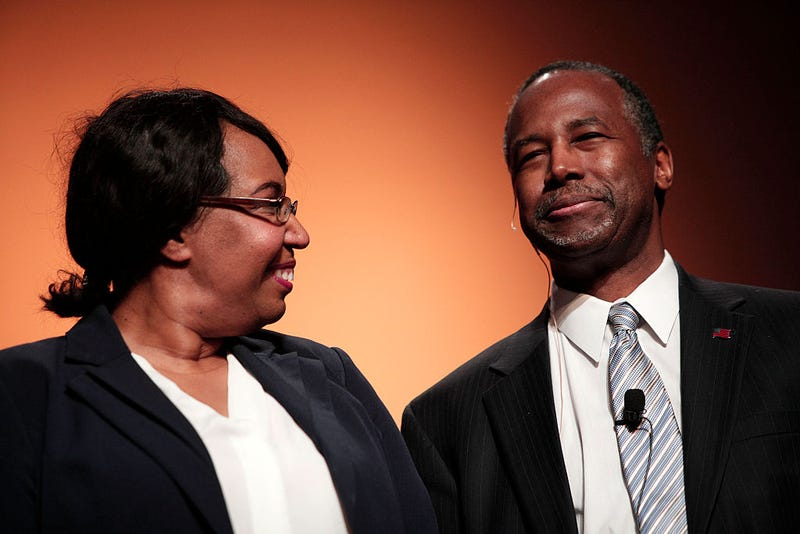 Candy Carson and Benjamin Carson (Bill Pugliano/Getty Images)