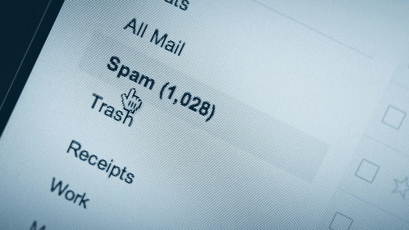 Image result for spam email