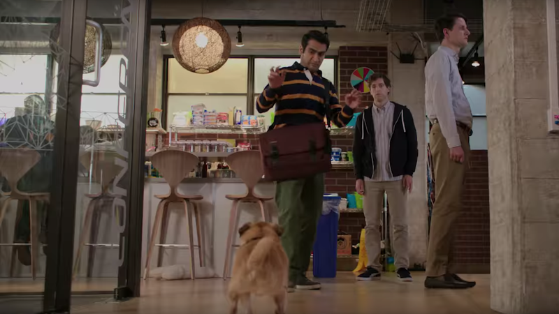"New trailer for season 5 of Silicon Valley eliminates the ""no dog"" policy"