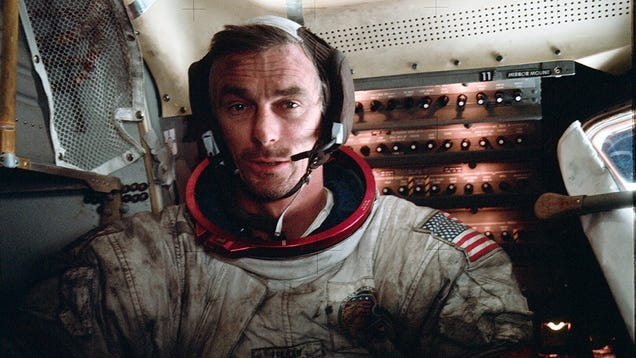 Eugene Cernan, the Last Human on the Moon, Has Passed Away