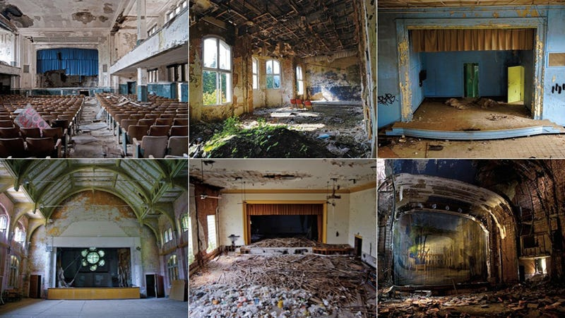 Illustration for article titled See the Faded Glory of Abandoned Theaters in Stages of Decay