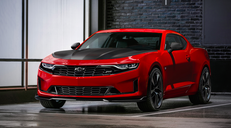The 2019 Chevrolet Camaro Gets A Four Cylinder 1le And It