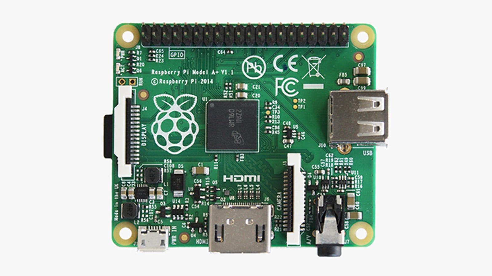 La nueva y diminuta Raspberry Pi A+ cuesta solo 20 dólares