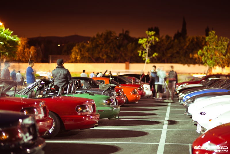 The Five Types Of Car Meets - Car meet