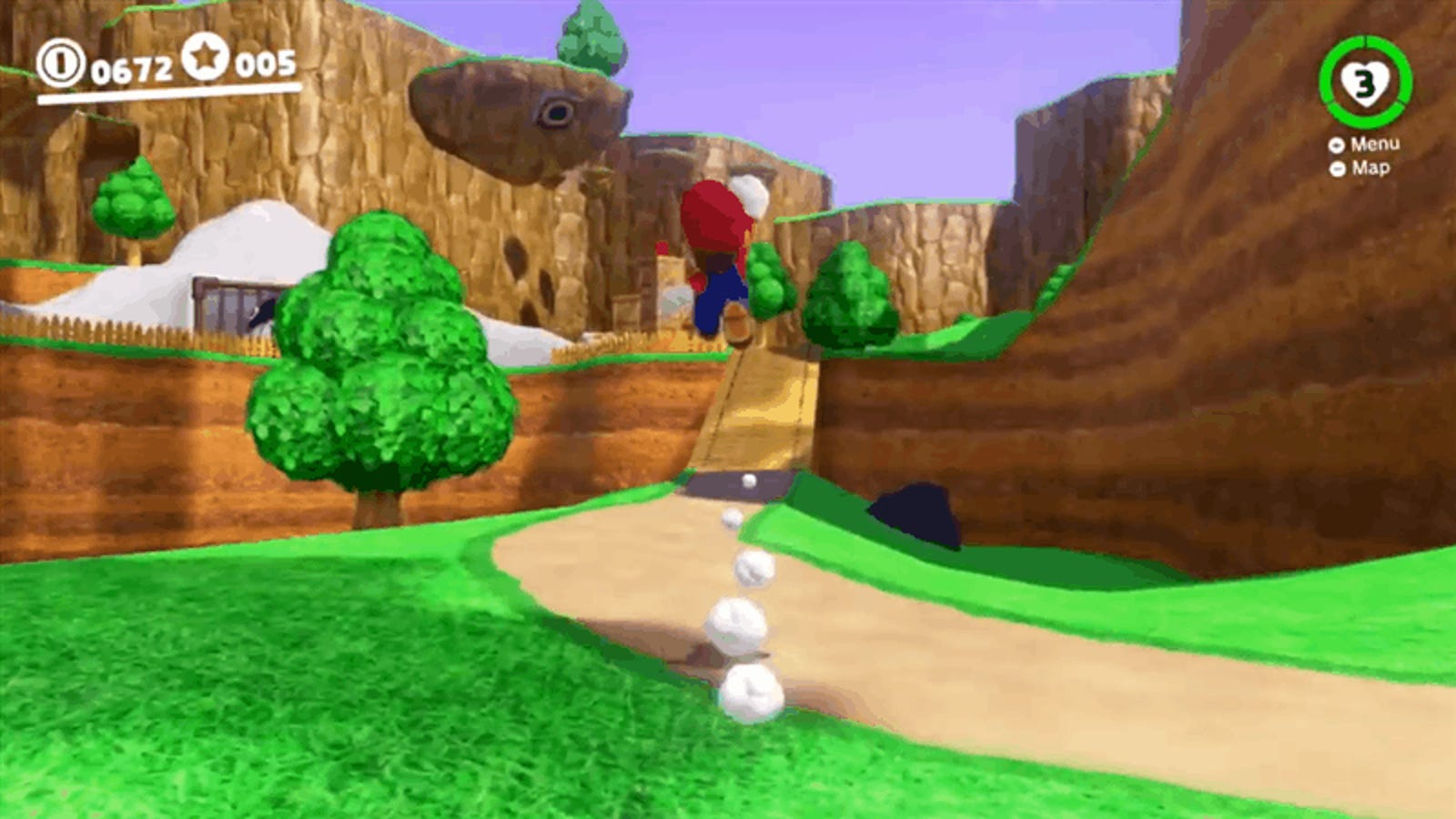 Super Mario 64 Is Being Remade Inside Super Mario Odyssey