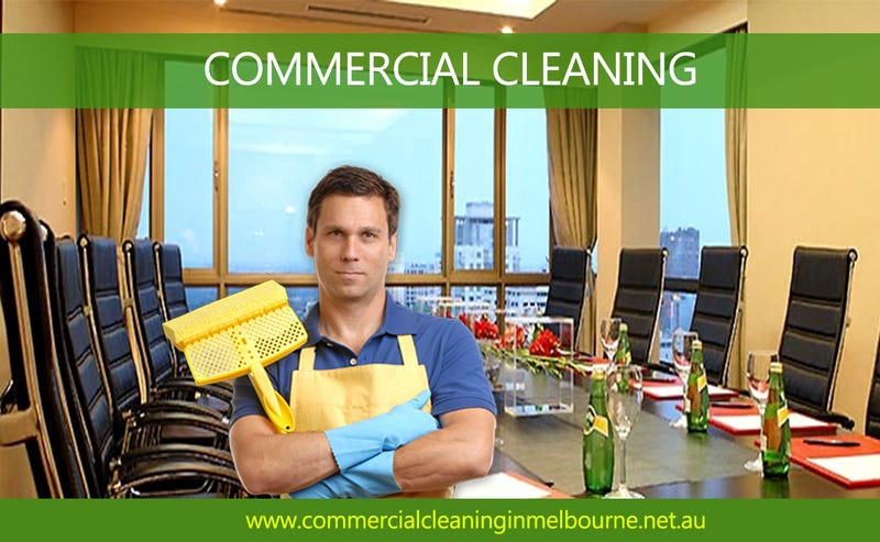 Illustration for article titled Commercial Cleaning