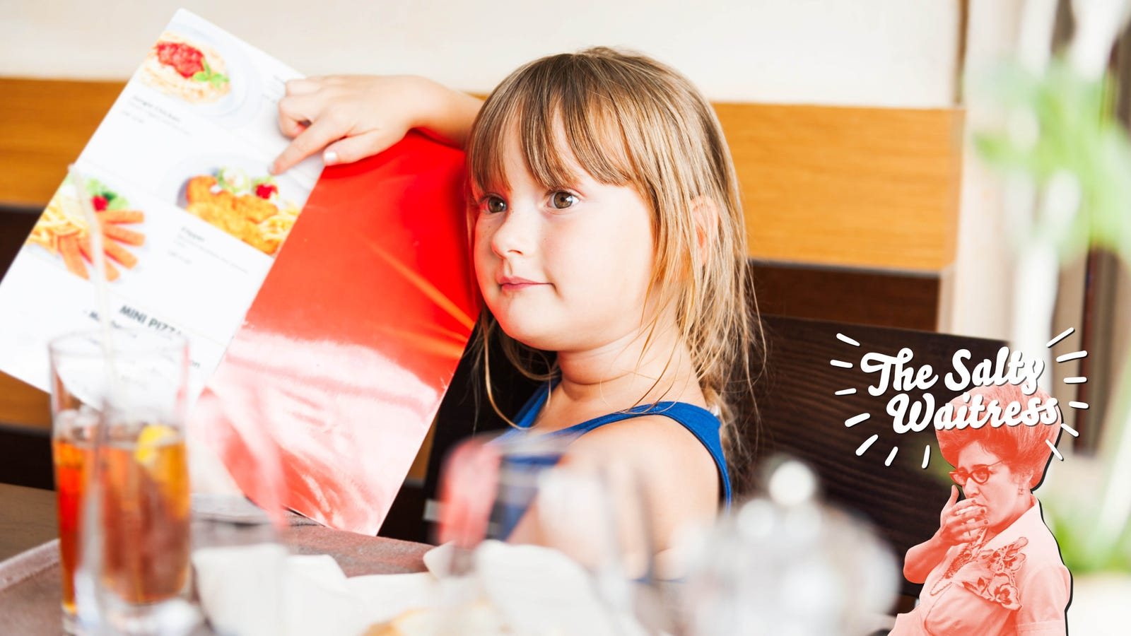 Ask The Salty Waitress: This kid looks too old for the kids' menu