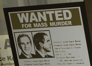 Illustration for article titled George W. Bush Wanted in Deus EX for Mass Murder