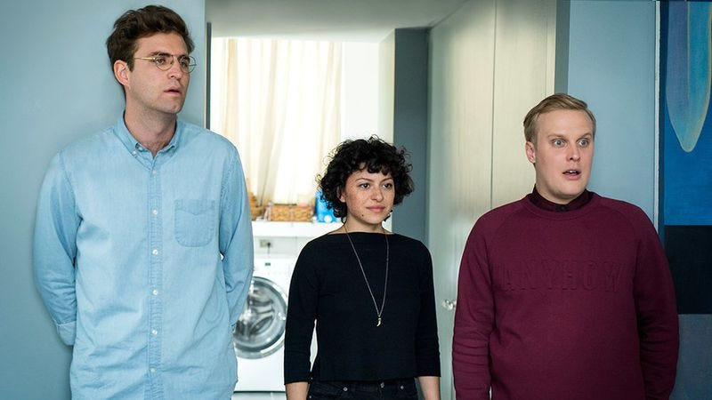 John Reynolds, Alia Shawkat, John Early (Photo: TBS)