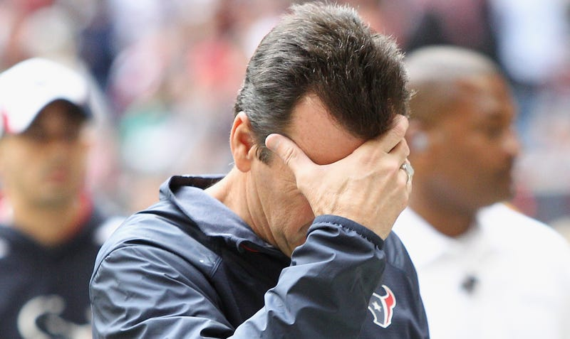 Illustration for article titled Texans Fire Gary Kubiak