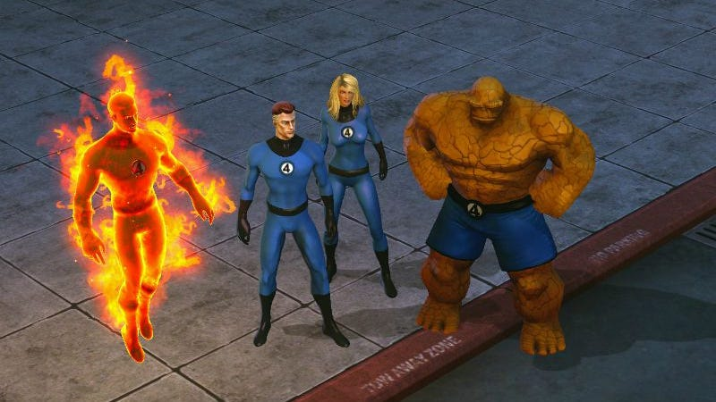 Illustration for article titled Marvel Heroes Stops Selling Fantastic Four Stuff