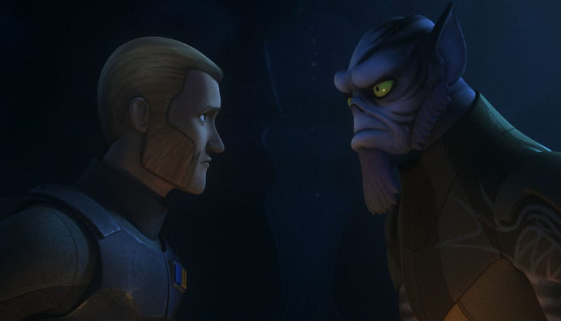 Illustration for article titled Star Wars Just GaveUs an Epic Confrontation Without Any Blasters or Lightsabers