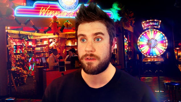 Man Entering Fog Of Insanity Asked If This His First Time At Dave & Buster's