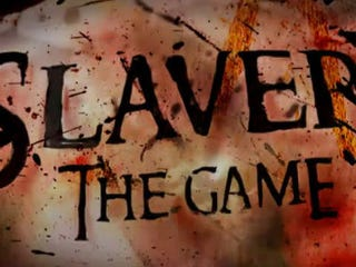 Illustration for article titled Slavery Video Game Coming Soon?