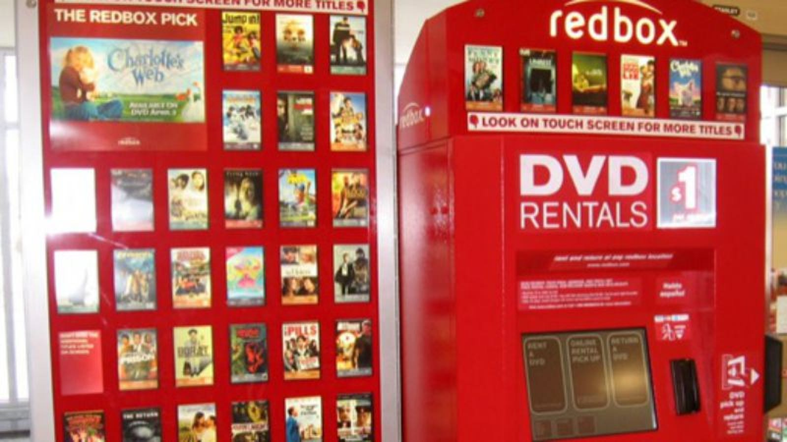 redbox losing some product