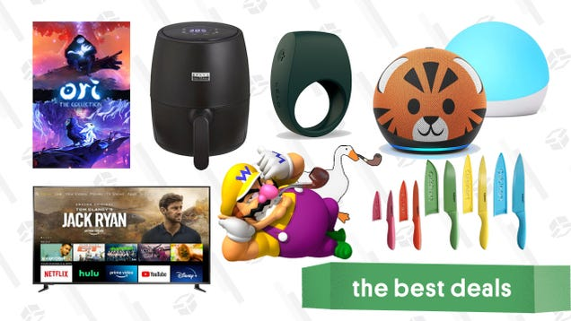 Wednesday s Best Deals: Bella Pro Series Air Fryer, Echo Dot Kids + Glow, Lelo Men s Toys, Insignia 70  4K TV, Cuisinart Knife Set, Ori: The Collection, and More