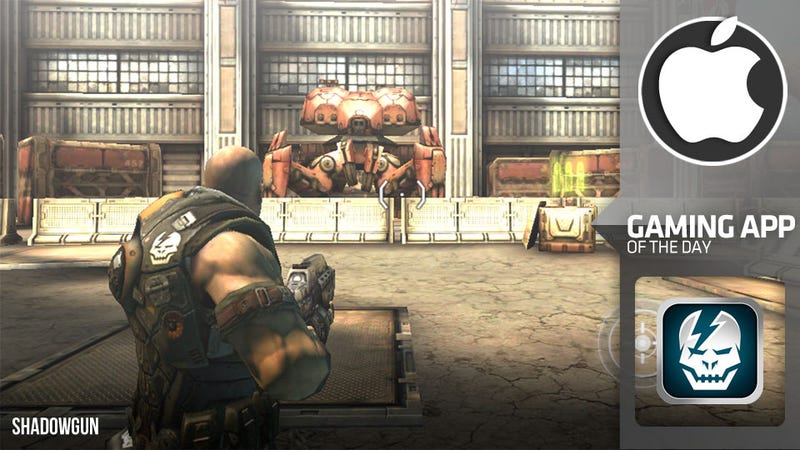 Illustration for article titled Shadowgun Is Trying Too Hard to Be the iPhone's Gears of War