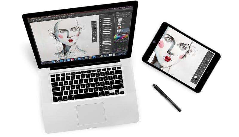 Illustration for article titled Esta app convierte tu iPad en un cuaderno de dibujo para tu Mac