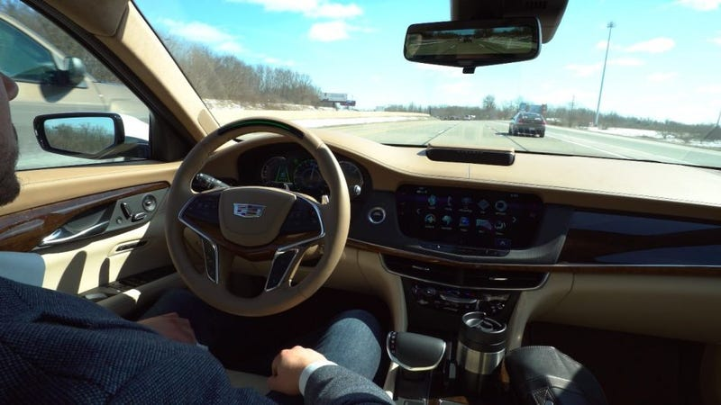 Look Ma, No Hands! 2018 Cadillac CT6 Gets 'Super Cruise' Autonomous Tech