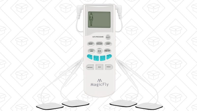 Magicfly TENS Massager, $20 with code XUPKOCXX