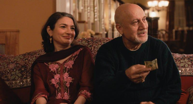Zenobia Shroff and Anupam Kher in The Big Sick. (Image: MPRM Communications)