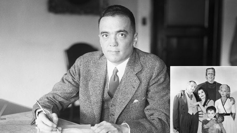 Illustration for article titled FBI Declassifies J. Edgar Hoover's Extensive File On The Munster Family