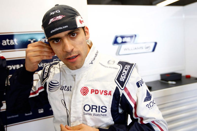 Illustration for article titled The Hater's Guide To F1 Pay Driver Pastor Maldonado