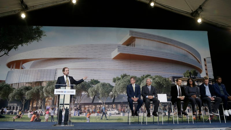 Warriors bringing PSLs to National Basketball Association at new $1B arena, report says