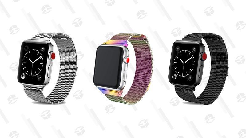 BRG Milanese Loop Apple Watch Bands | $5 | Amazon | Promo code JLHX4TZ9