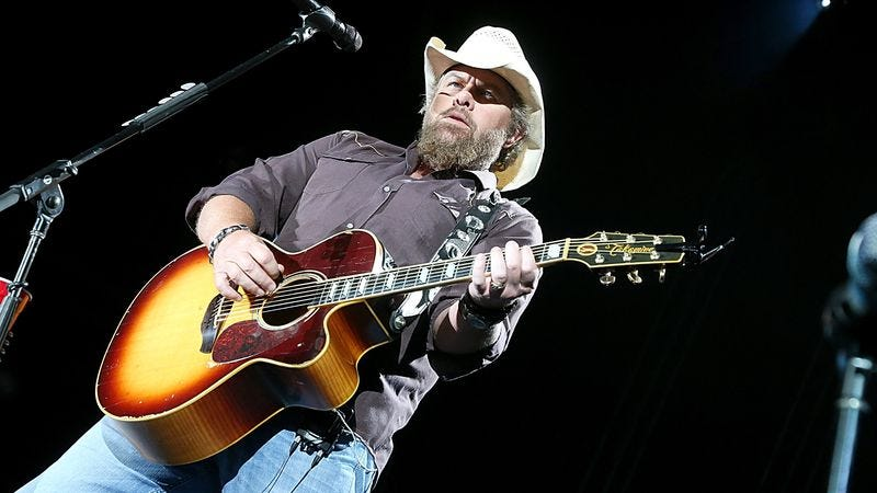 Illustration for article titled UPDATED: Toby Keith and 3 Doors Down will actually perform at the inauguration