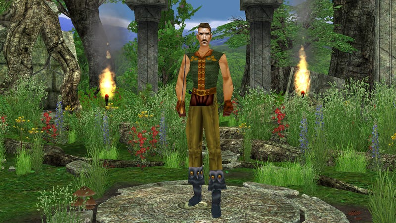Illustration for article titled The Original EverQuest Has Not Aged Well