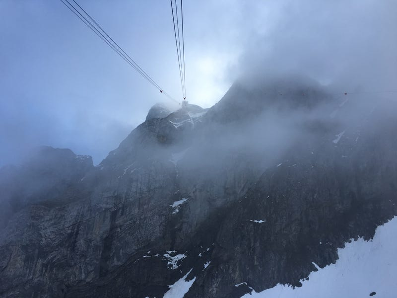 Mt Pilatus. I would never build my evil genius lair up there. Nope.