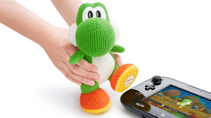 Illustration for article titled Nintendo's Mega Yarn Yoshi Is the Perfect Start to an Amiibo Addiction