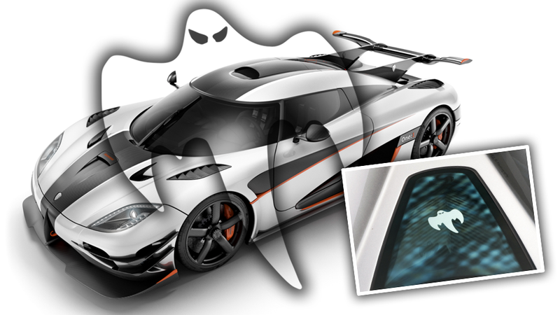 Why Does Koenigsegg Have A Ghost On All Their Cars